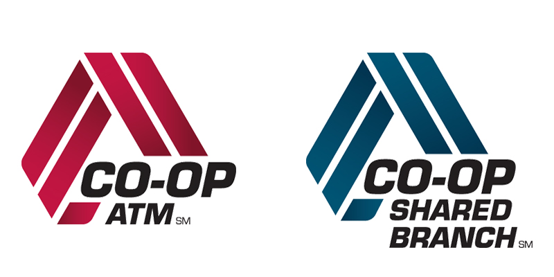 Co-Op ATM and Shared Branching Logos
