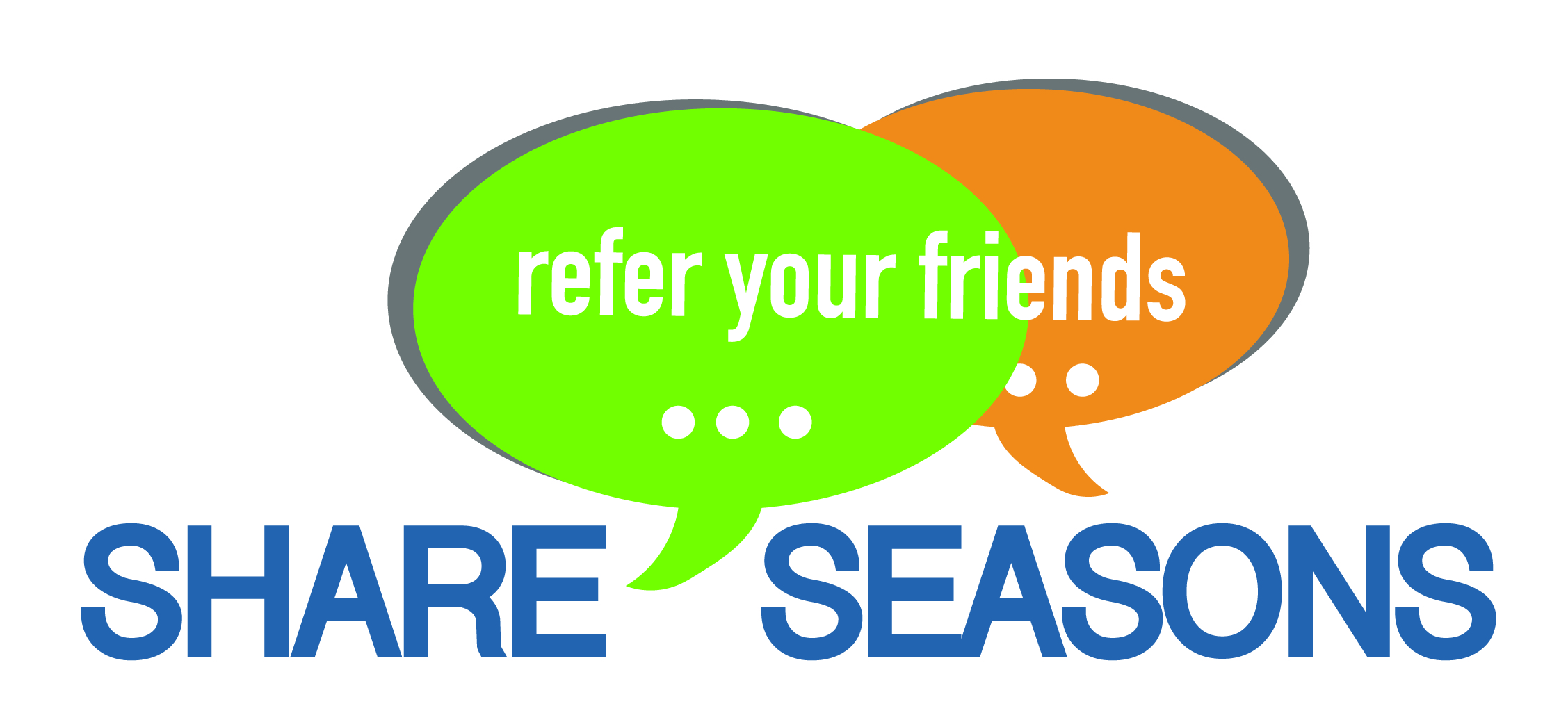 Share Seasons Logo. Refer your friends.