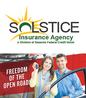 Solstice Insurance Agency. Freedom of the open road!
